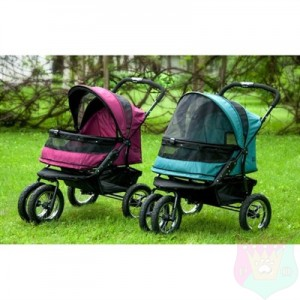 Double Pet Stroller No-Zip