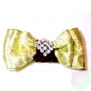 Fancy Bows with Rhinestones