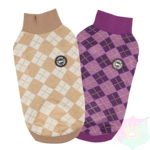Argyle Meow Sweater
