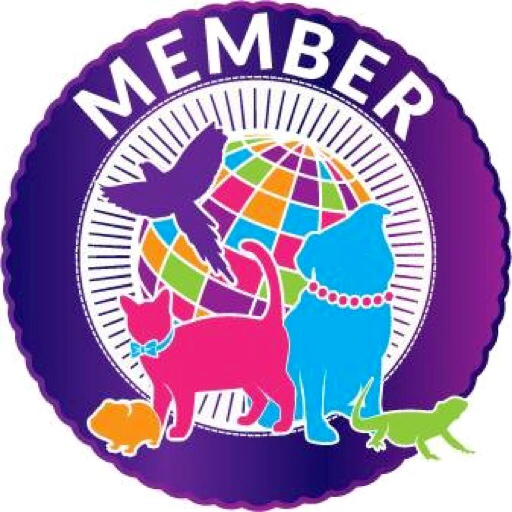 Coco-Mau and Joanna proudly belong to International Association of Pet Fashion Professionals